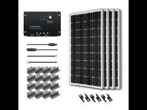 Renogy 400 watt Solar Starter Kit