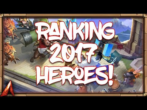RANKING 2017 HEROES!  Castle Clash