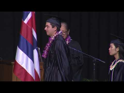 BYU-Hawaii Commencement (April 21, 2018) - Graduates