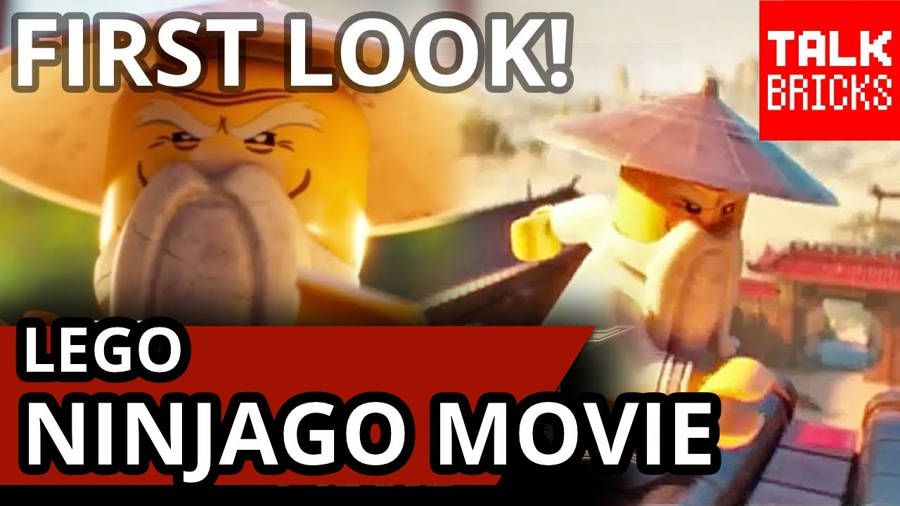 LEGO Ninjago Movie Short: The Master First Look! Pictures & New Movie Details!