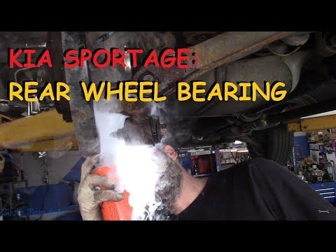Kia Sportage: Rear Wheel Bearing