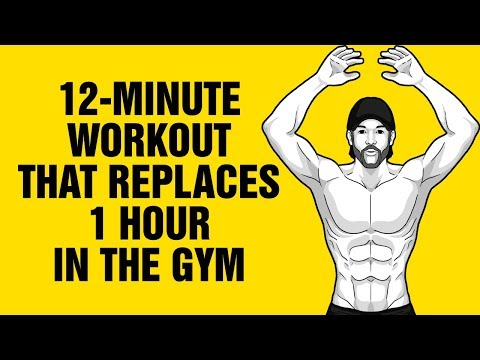 12-Minute Body-weight Workout That Replaces 1 Hour in the Gym - MET-CON