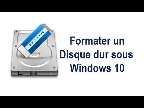 comment formater un disque dur sous windows 10 avec easeus partition master free youtube. Black Bedroom Furniture Sets. Home Design Ideas