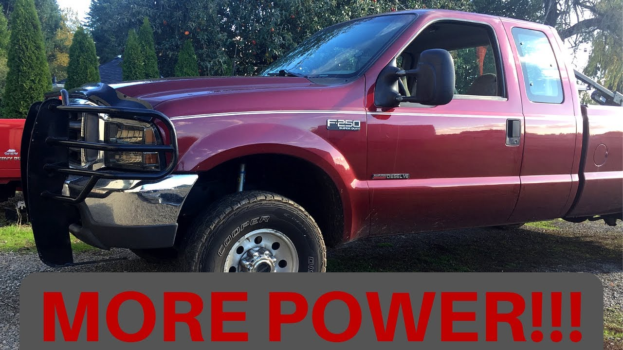 Ford 7 3 Powerstroke Top 3 Power Mods Youtube