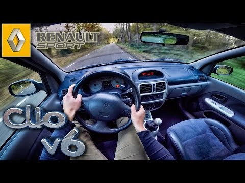 Renault Sport Clio V6 3.0 Phase 1 POV Test Drive
