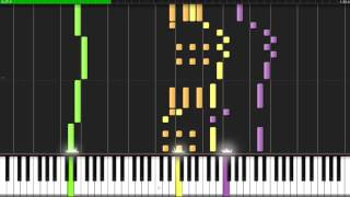 The Legend of Zelda Ocarina of Time - Song of Storms - Synthesia