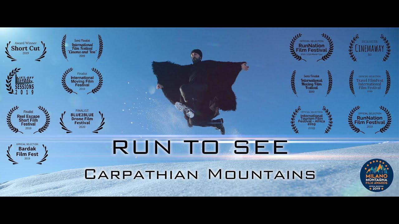 Run to See Carpathian Mountains