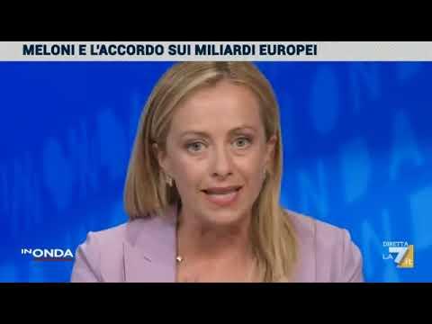 L'intervista di Giorgia Meloni a In Onda, su La7. Non perdetela