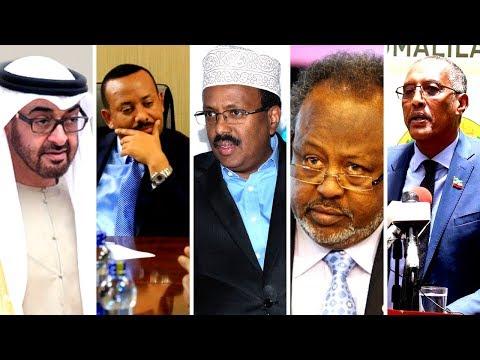 Wararkii ugu Danbeeyey Khatarta imaaraadka ee Jabuuti & Somaliland Xog Lasoo Uruuriyey