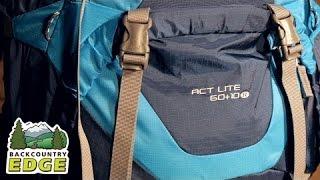 Deuter ACT Lite 60+10 SL Women's Internal Frame Backpack