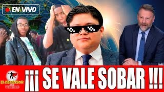 En Vivo, Gibrán Ramírez Tunde a Chayotero De Televisa Por Falsa Investigación De Claudio X