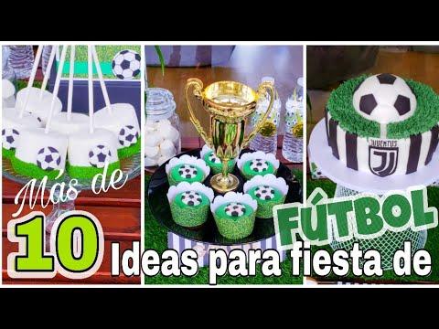 10 IDEAS para FIESTA de Futbol /DIY/ Keiri Craft /