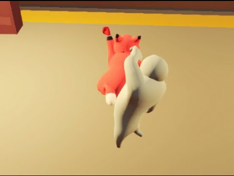 Gang Beasts With Bots  (HOW TO ADD BOTS)
