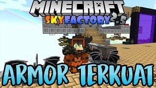 Buat Armor Super Kuat - Minecraft SkyFactory 2.5