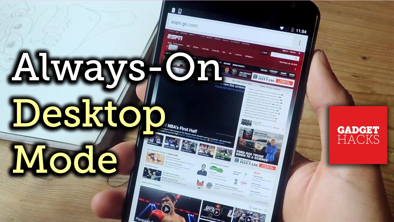 Get Desktop Mode Permanently in Chrome & Firefox on Android [How-To]