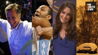 AZ Freak Snowstorm, Kendall Marshall Fractures Wrist, Kate Middleton Gives First Speech