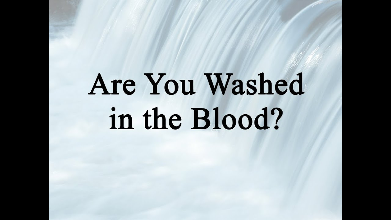 Alan Jackson - Are You Washed In The Blood? Lyrics ...