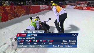 Severin Freund - Team Olympia 2014 Sotschi - Gold