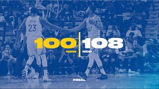 Game 13   Golden State Warriors vs New Orleans Pelicans Full Game Highlights!