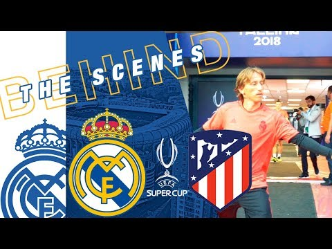 Real Madrid vs Atlético   RAMOS, BALE and co. train in Tallinn! thumbnail