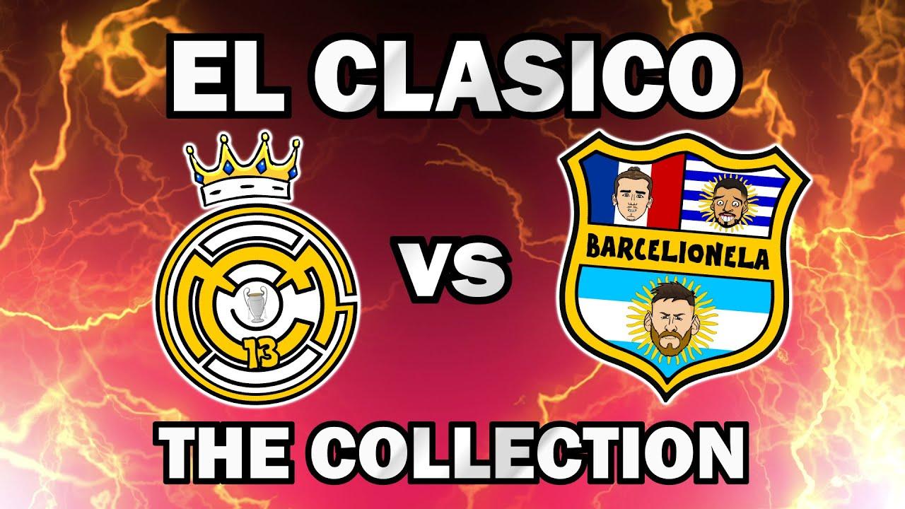 El Clasico Collection - Real Madrid vs Barcelona Top Videos