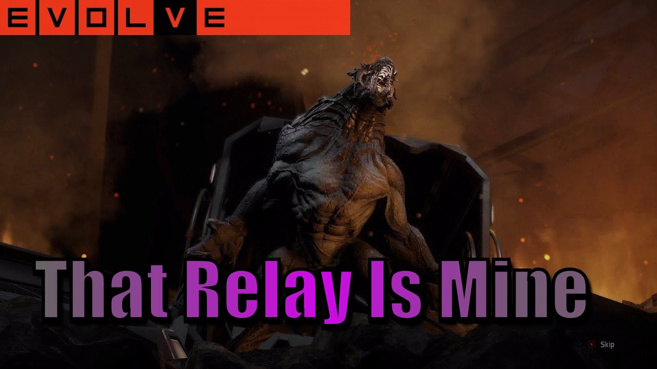 Evolve Stage 2 That Power Relay Is Mine Goliath Platinum Skin - Power Relay Evolve