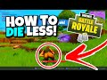 HOW TO STAY ALIVE IN FORTNITE! - WIN MORE GAMES FORTNITE BATTLE ROYALE!