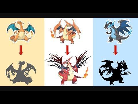 Mega Charizard Evolution As Monster.