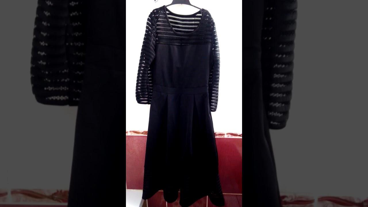 bbf68fbecdd Чёрное платье от avon новинка каталога 17 2017 - YouTube