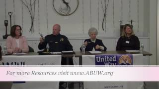 League of Women Voters United Way Seniors Caregiving Panel 1/17/17