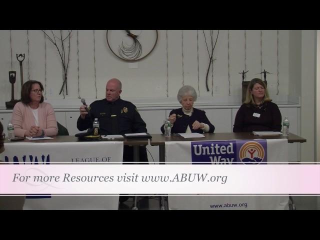 League of Women Voters United Way Seniors Caregiving Panel 1/17/17