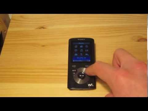 Sony Walkman NWZ-E384 Quick Overview