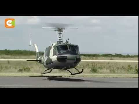 US donates 6 helicopters to KDF