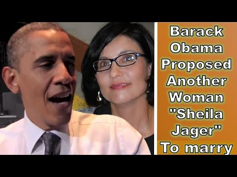 "Barack Obama Proposed to Another Woman ""Sheila Jager"", Before Michelle"