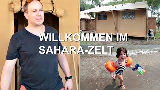 CAMPING LIDO DI SPINA / SAHARA-ZELT / Vlog