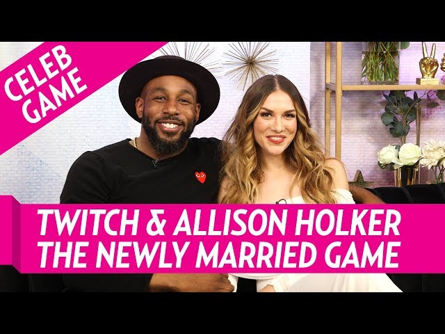 Twitch & Allison Holker Play The Newly Married Game