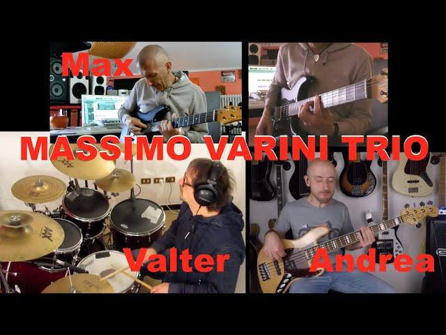 Massimo Varini Trio - MVRock 118bpm - Andrea Rosatelli e Valter Sacripanti