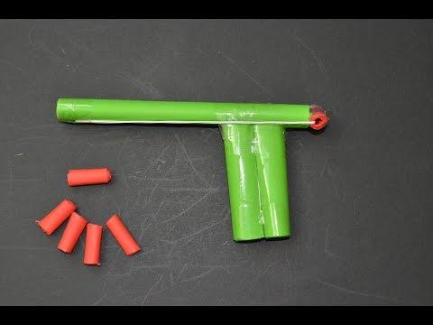 Como hacer Pistola de Papel que Dispare   juguete de papel