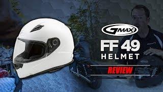 GMAX FF 49 Helmet Review | BikeBandit.com