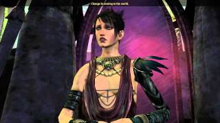 Dragon Age Origins: Witch Hunt Ending - Attacking Morrigan (Dalish Elf Romance)