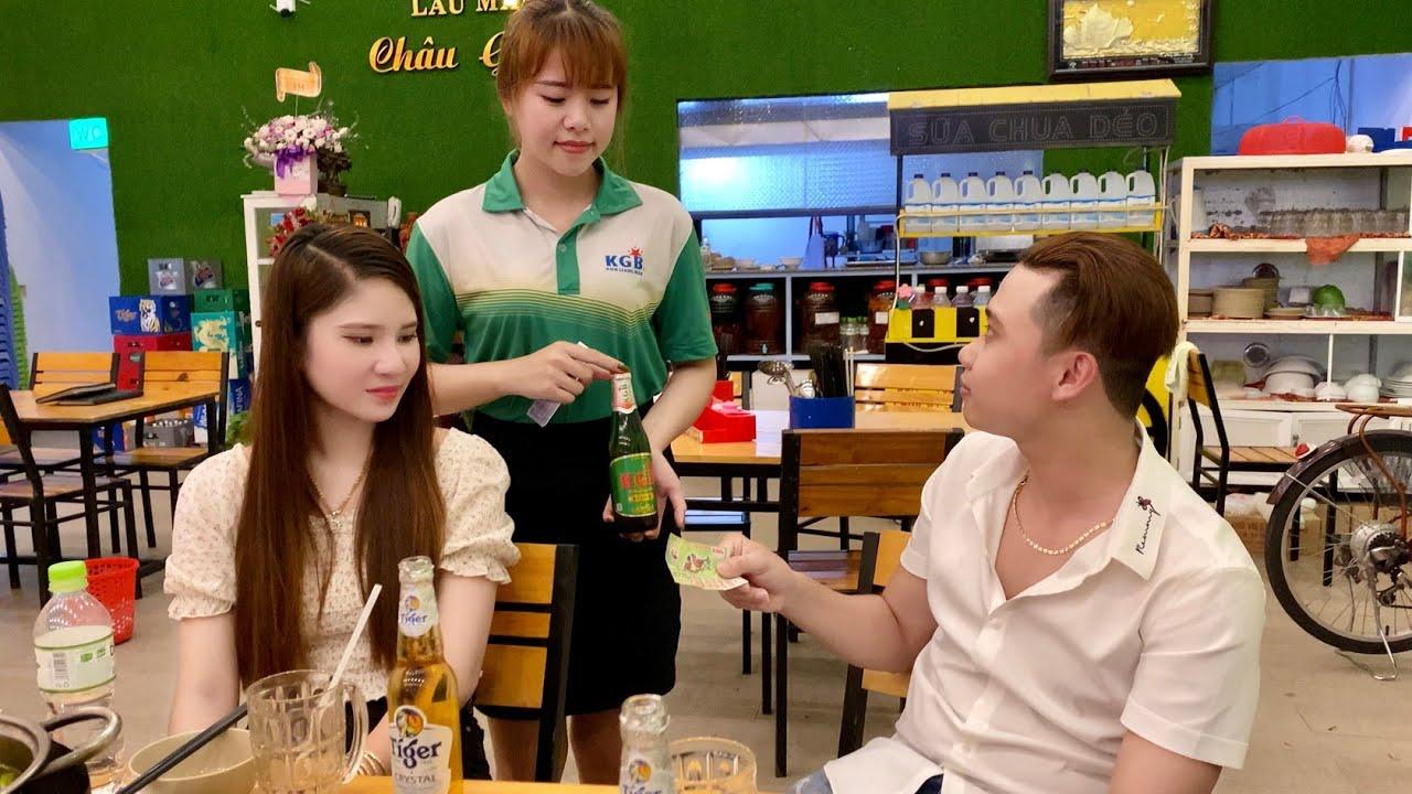 Công Thức TV Bị Tiếp Thị Bia KGB Thách Thức Khui Bia Bằng Tờ Giấy Số,open the beer with paper