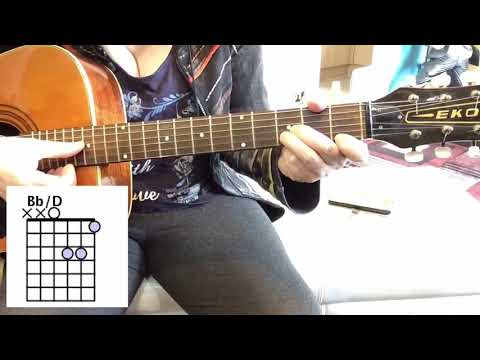 how-to-play-a-bb/d-chord-guitar-lesson-for-beginners