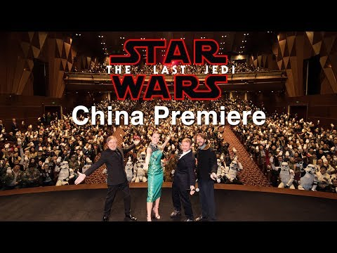 Star Wars: The Last Jedi - China Premiere Highlights | Red Carpet