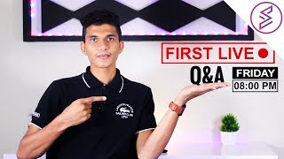 FIRST LIVE TEST USING OBS || Q&A