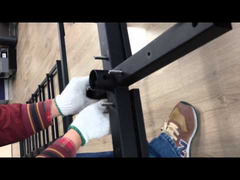BuilderElements showroom display rack installation video