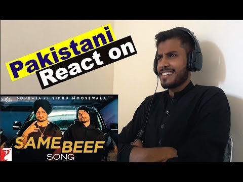 Download Lagu  Pakistani Reaction on Same Beef  :  Bohemia ft. Sidhu Moose Wala : Latest Punjabi Songs 2019 Mp3 Free