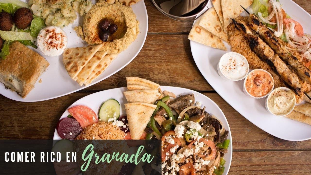 5 Restaurantes Donde Comer Barato En Granada España Youtube