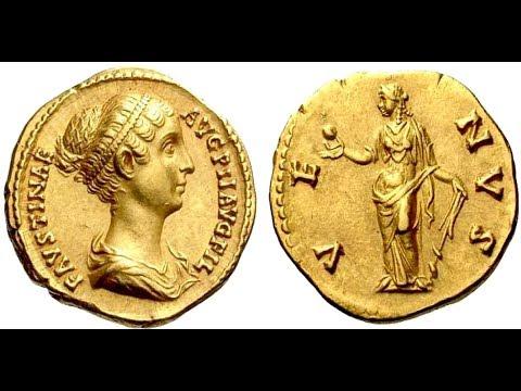 🔝Аурей, 145 - 161 гг., Монета Древнего Рима, Император АНТОНИН ПИЙ, 🌍 Aurey, 145 - 161 AD ✅