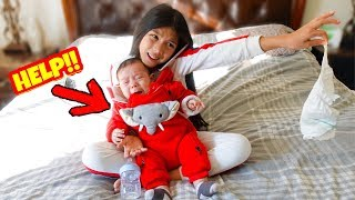 Txunamy Babysits Baby Ranger | Familia Diamond