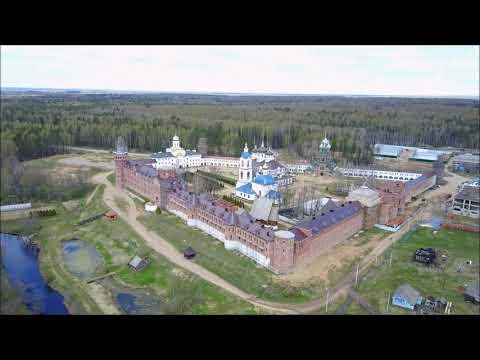 Очень #красивое видео.  Монастырь с высоты птичьего полёта.